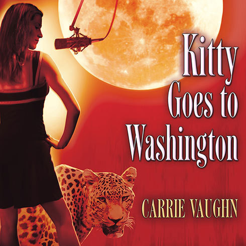 Printable Kitty Goes to Washington Audiobook Cover Art