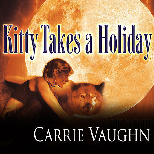 Printable Kitty Takes a Holiday Audiobook Cover Art