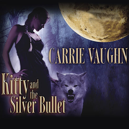 Printable Kitty and the Silver Bullet Audiobook Cover Art