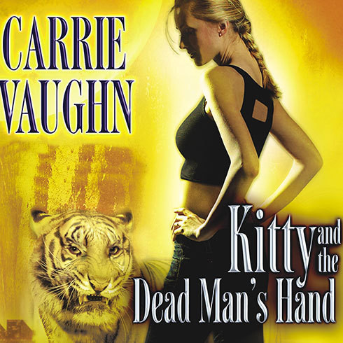 Printable Kitty and the Dead Man's Hand Audiobook Cover Art