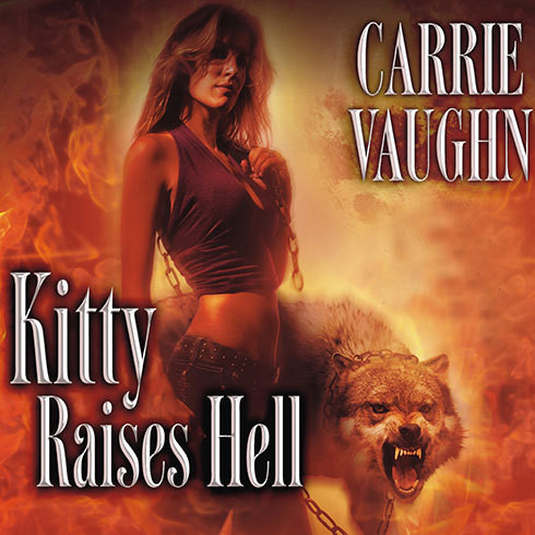Printable Kitty Raises Hell Audiobook Cover Art