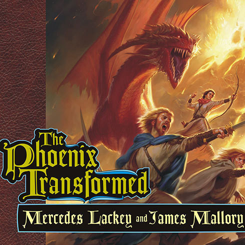 Printable The Phoenix Transformed: Book Three of the Enduring Flame Audiobook Cover Art