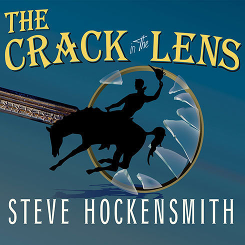 Printable The Crack in the Lens Audiobook Cover Art