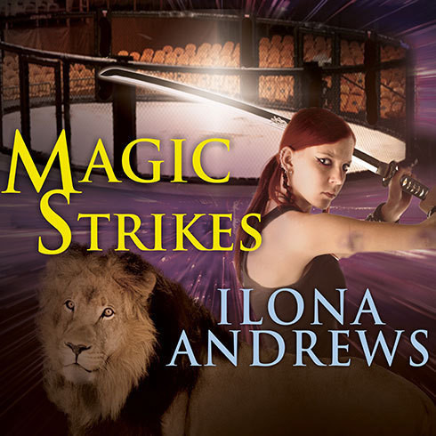 Printable Magic Strikes Audiobook Cover Art