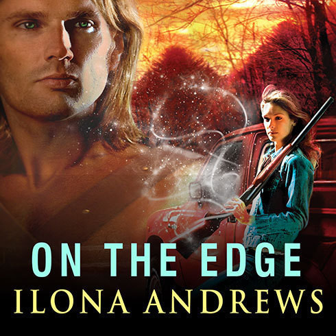Printable On the Edge Audiobook Cover Art