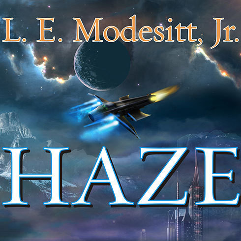 Printable Haze Audiobook Cover Art