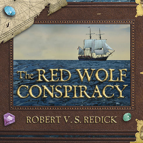 Printable The Red Wolf Conspiracy Audiobook Cover Art