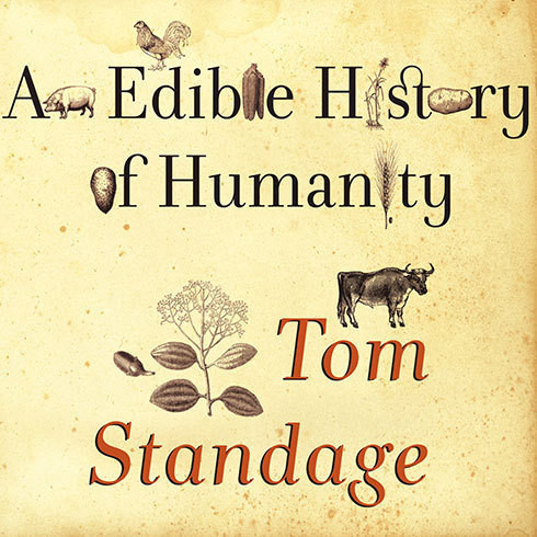 Printable An Edible History of Humanity Audiobook Cover Art