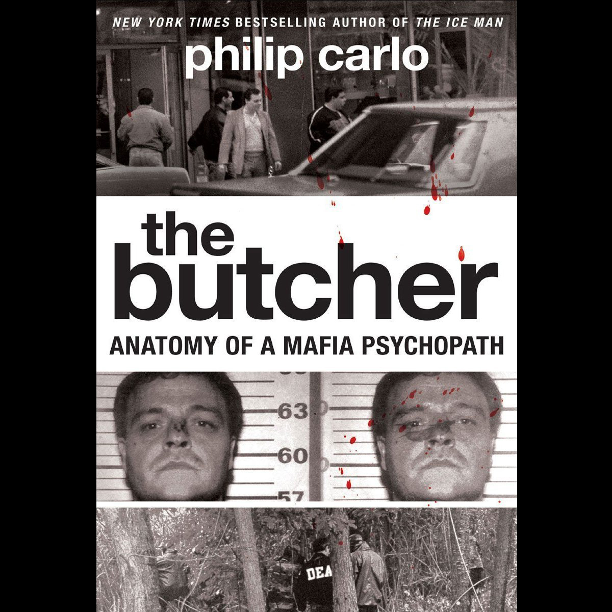 Printable The Butcher: Anatomy of a Mafia Psychopath Audiobook Cover Art