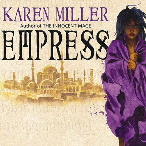 Printable Empress Audiobook Cover Art