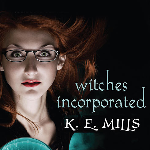Printable Witches Incorporated Audiobook Cover Art