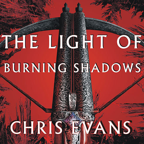 Printable The Light of Burning Shadows: Book Two of the Iron Elves Audiobook Cover Art