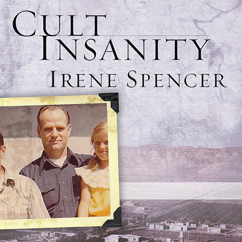 Printable Cult Insanity: A Memoir of Polygamy, Prophets, and Blood Atonement Audiobook Cover Art