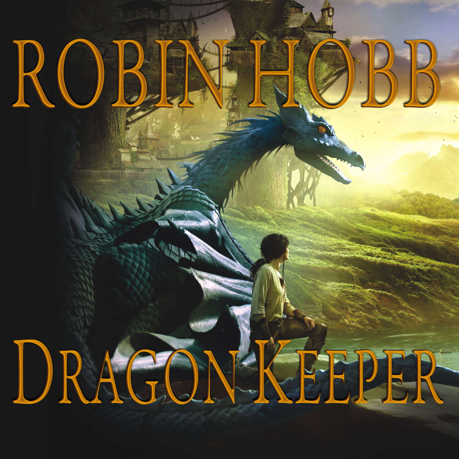 Printable Dragon Keeper Audiobook Cover Art