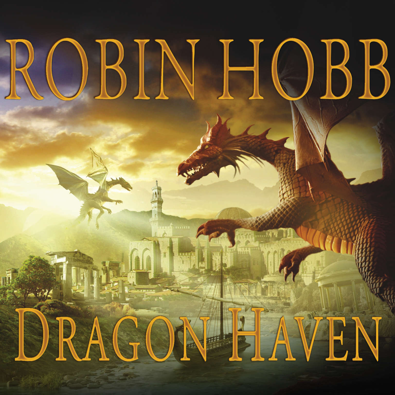 Printable Dragon Haven Audiobook Cover Art