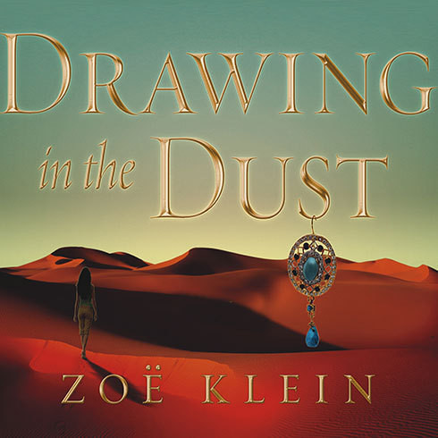 Printable Drawing in the Dust: A Novel Audiobook Cover Art