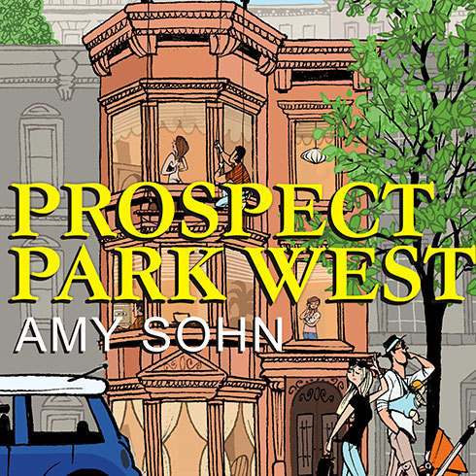 Printable Prospect Park West: A Novel Audiobook Cover Art