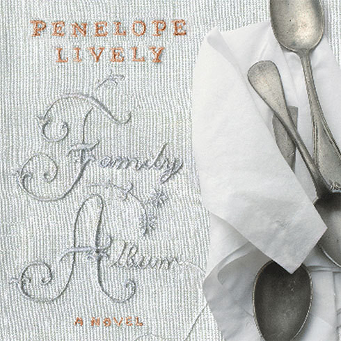 Printable Family Album: A Novel Audiobook Cover Art