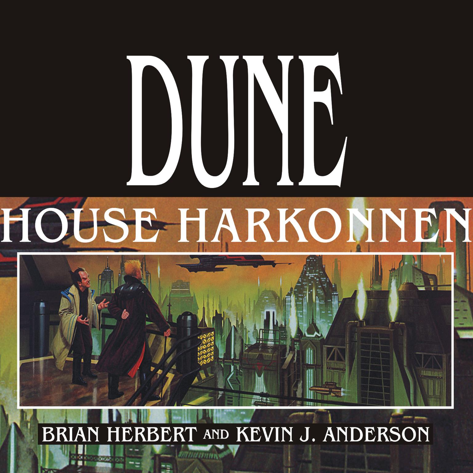 Printable Dune: House Harkonnen Audiobook Cover Art