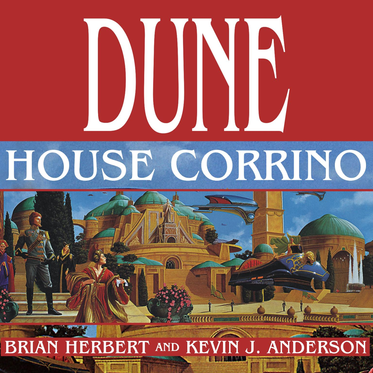 Printable Dune: House Corrino Audiobook Cover Art