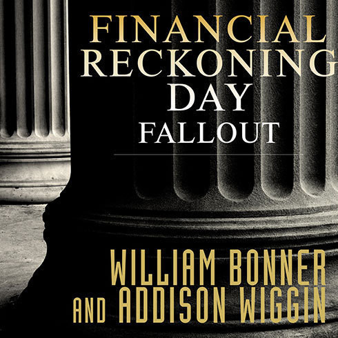 Printable Financial Reckoning Day Fallout: Surviving Today's Global Depression Audiobook Cover Art