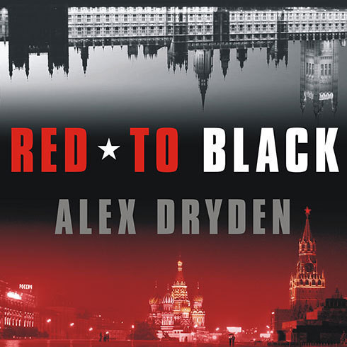 Printable Red to Black Audiobook Cover Art
