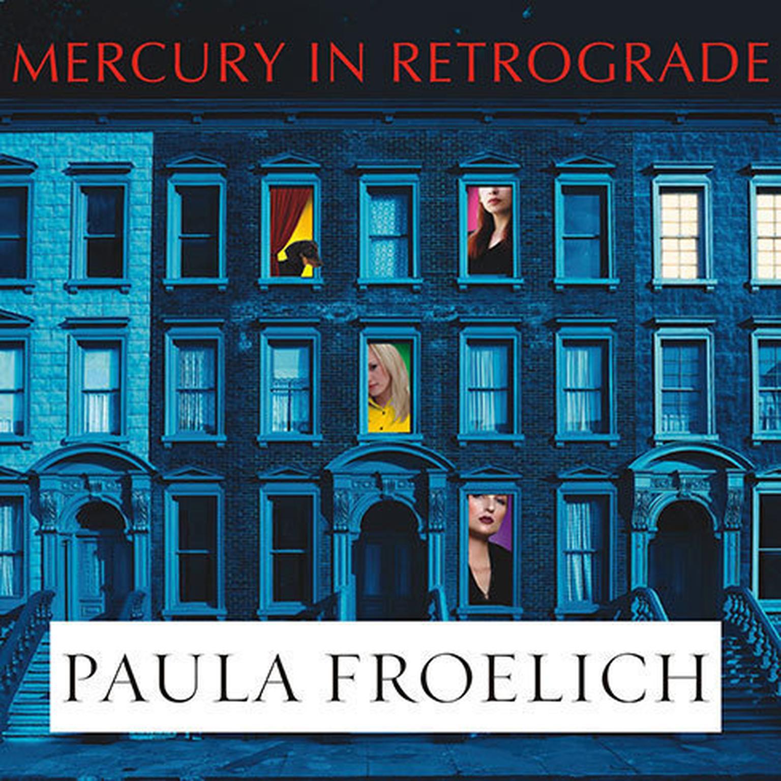 Printable Mercury in Retrograde: A Novel Audiobook Cover Art