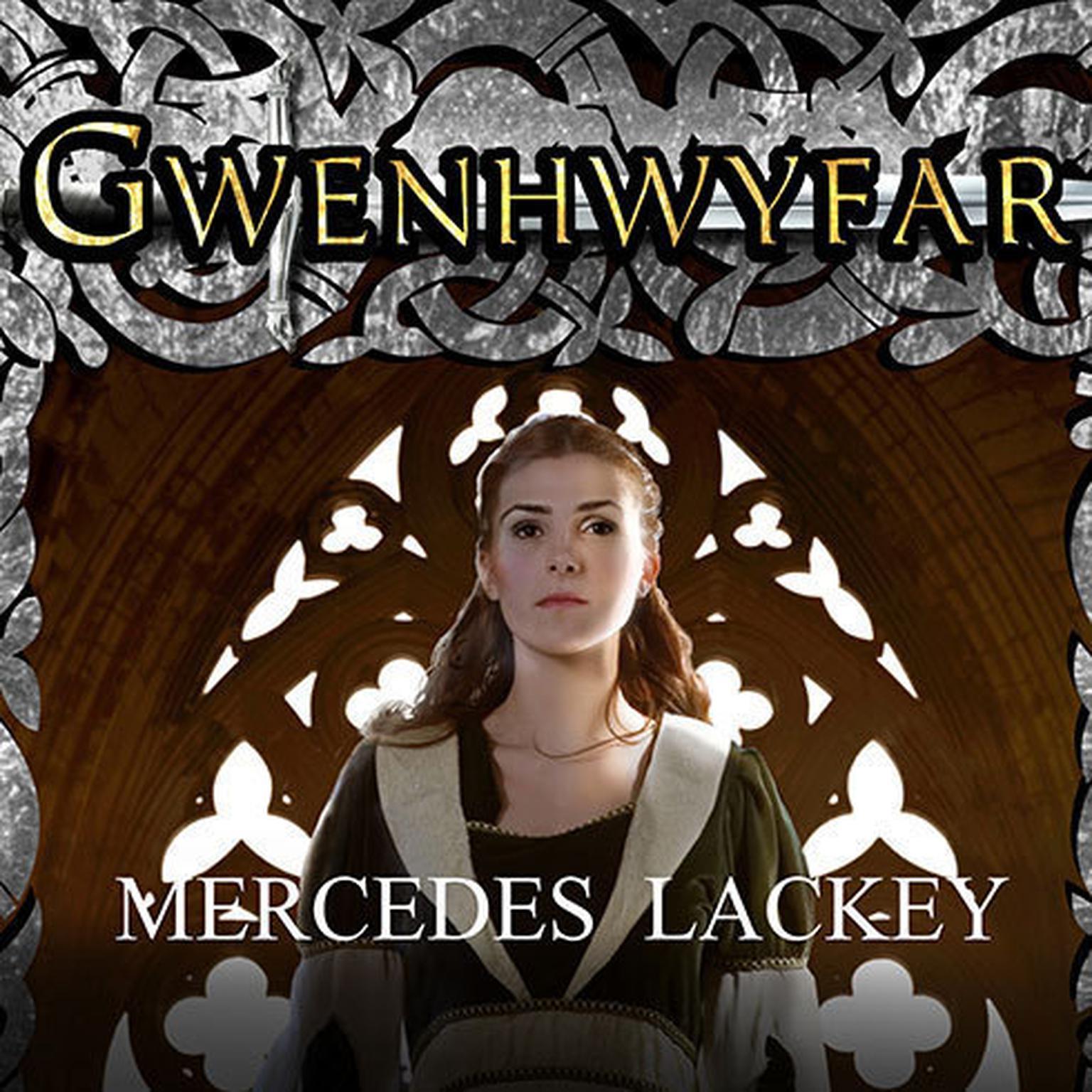 Printable Gwenhwyfar: The White Spirit (A Novel of King Arthur) Audiobook Cover Art
