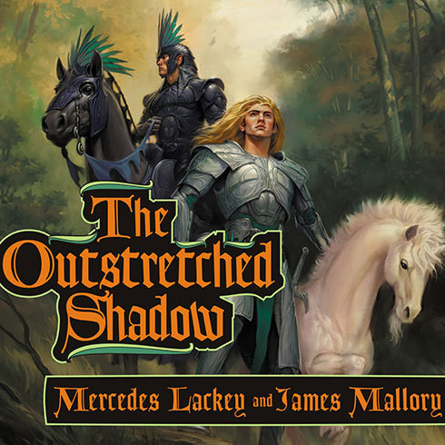 Printable The Outstretched Shadow Audiobook Cover Art