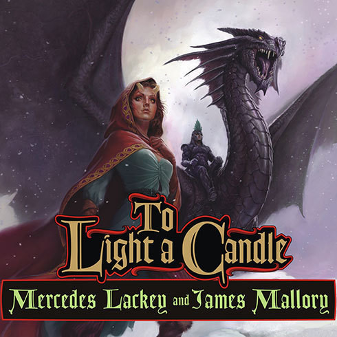 Printable To Light a Candle Audiobook Cover Art