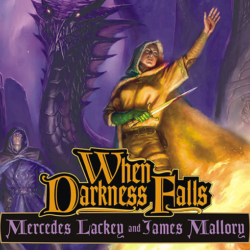 Printable When Darkness Falls Audiobook Cover Art