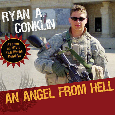 Printable An Angel from Hell: Real Life on the Front Lines Audiobook Cover Art