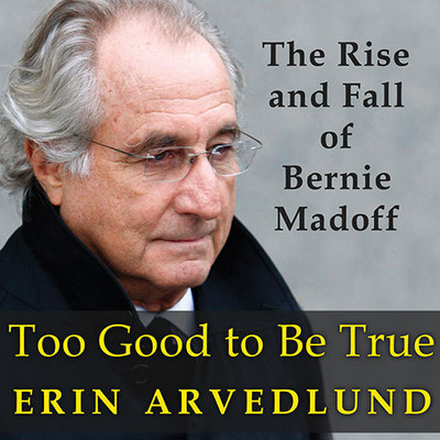 Too Good to Be True: The Rise and Fall of Bernie Madoff Audiobook, by Erin Arvedlund