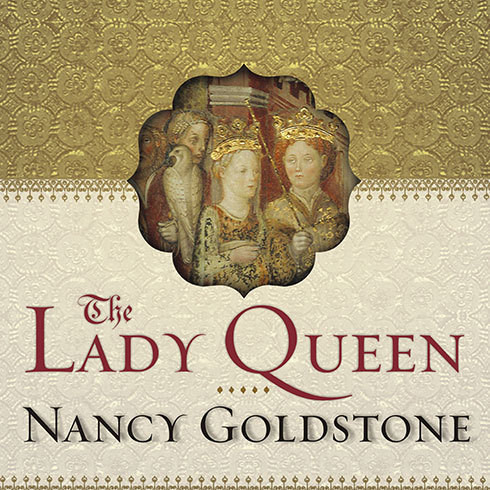 Printable The Lady Queen: The Notorious Reign of Joanna I, Queen of Naples, Jerusalem, and Sicily Audiobook Cover Art