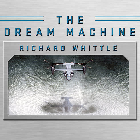 Printable The Dream Machine: The Untold History of the Notorious V-22 Osprey Audiobook Cover Art