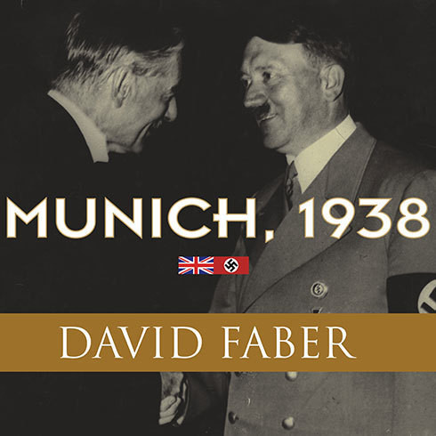 Printable Munich, 1938: Appeasement and World War II Audiobook Cover Art