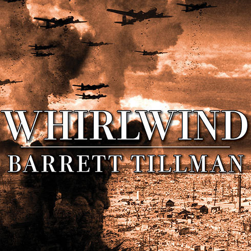 Printable Whirlwind: The Air War Against Japan 1942-1945 Audiobook Cover Art