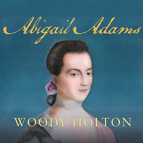 Printable Abigail Adams Audiobook Cover Art