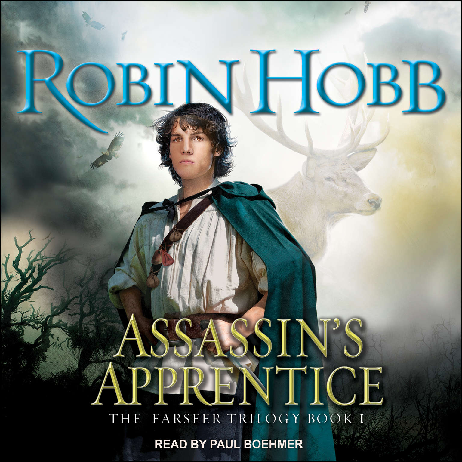 Printable Assassin's Apprentice Audiobook Cover Art