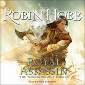 The Farseer: Royal Assassin, by Robin Hobb, J. Paul Boehmer