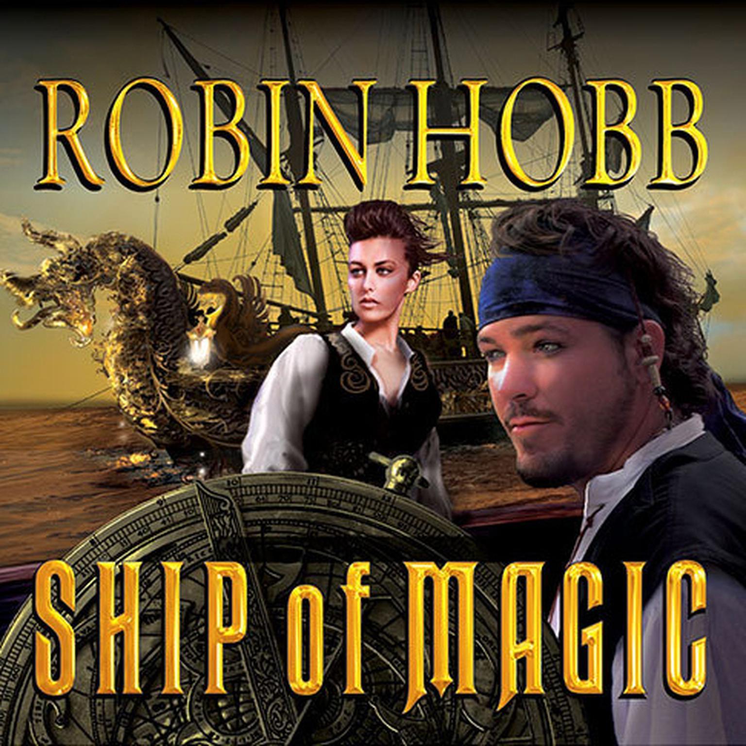 Printable Ship of Magic Audiobook Cover Art