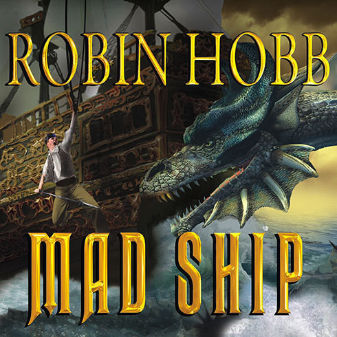Printable Mad Ship Audiobook Cover Art