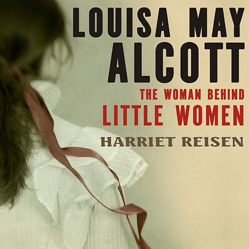 Printable Louisa May Alcott: The Woman behind Little Women Audiobook Cover Art