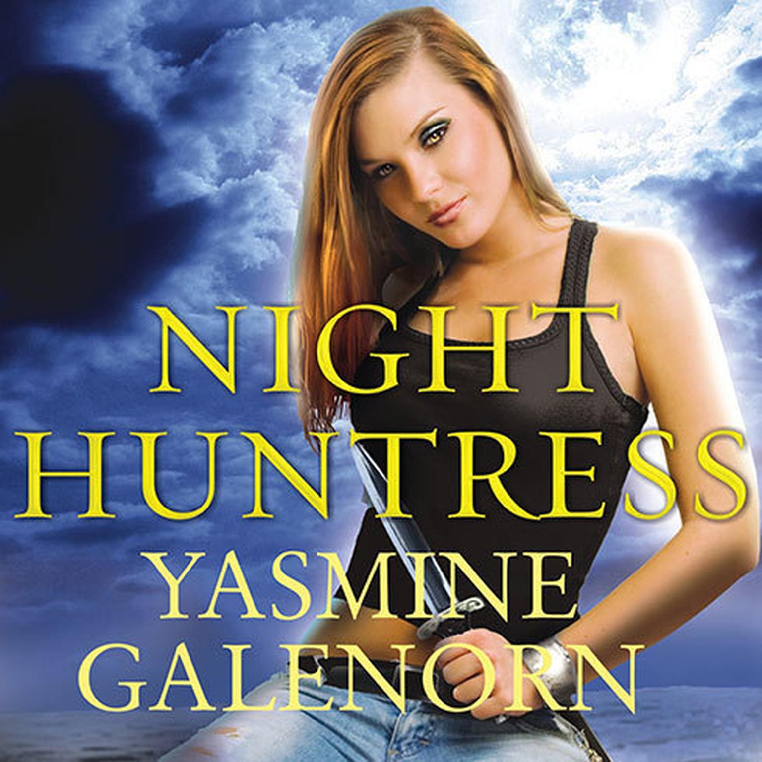 Printable Night Huntress Audiobook Cover Art