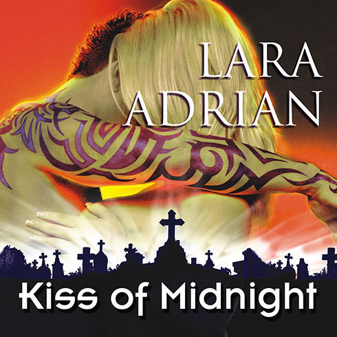 Printable Kiss of Midnight Audiobook Cover Art