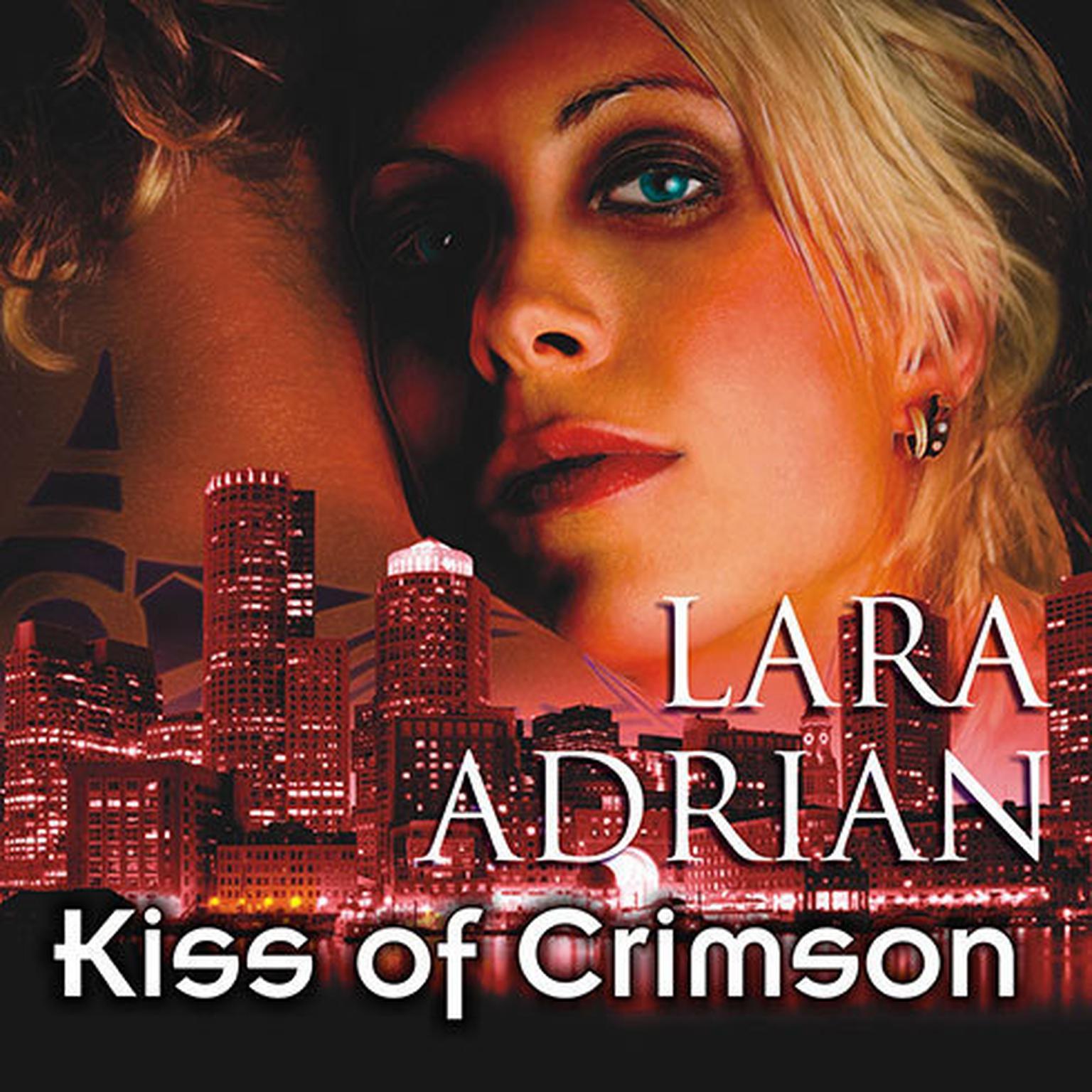 Printable Kiss of Crimson Audiobook Cover Art