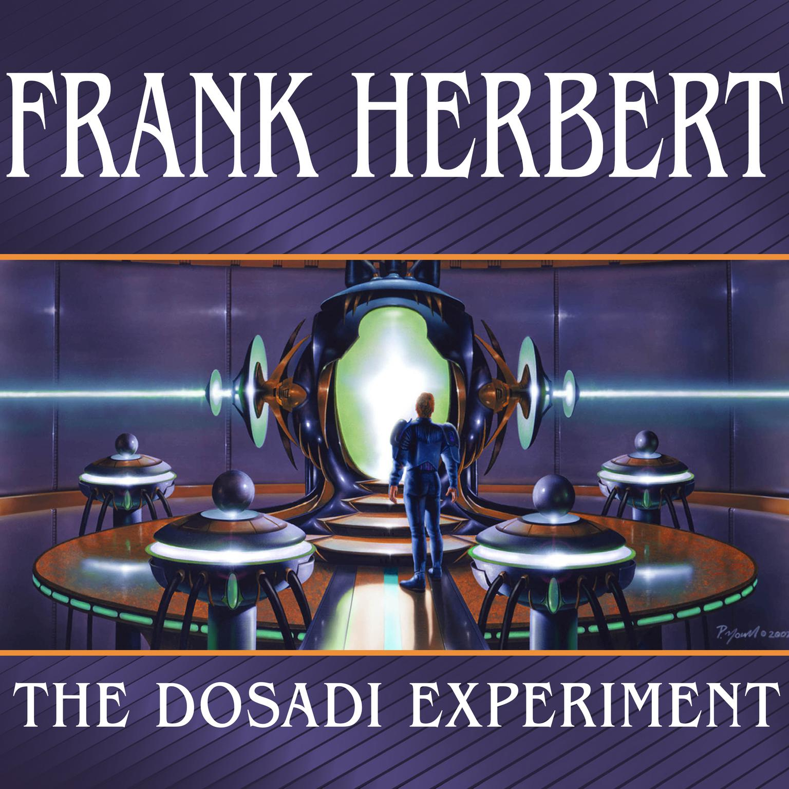 Printable The Dosadi Experiment Audiobook Cover Art