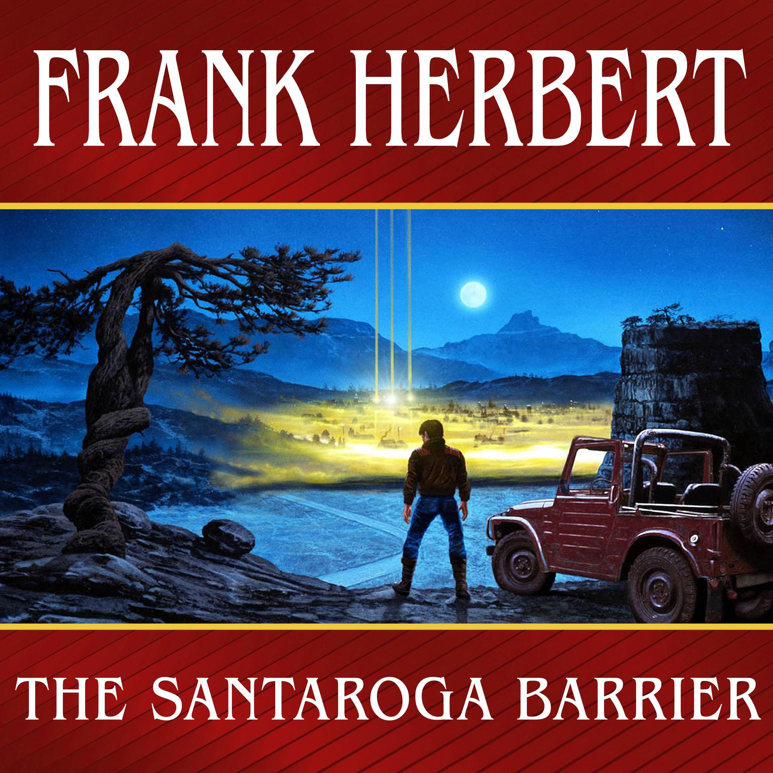 Printable The Santaroga Barrier Audiobook Cover Art