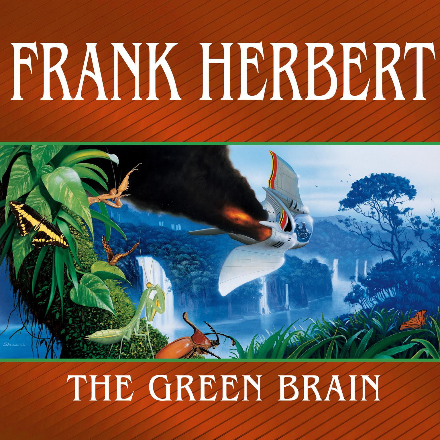 Printable The Green Brain Audiobook Cover Art