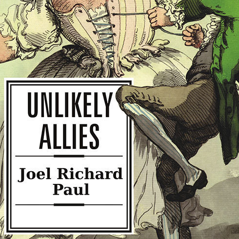 Printable Unlikely Allies: How a Merchant, a Playwright, and a Spy Saved the American Revolution Audiobook Cover Art
